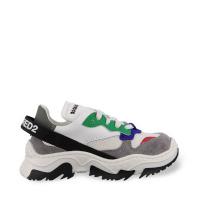 Afbeelding van Dsquared2 65164 kindersneakers wit/grijs