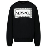 Afbeelding van Versace YD000192 kindertrui zwart