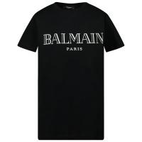 Afbeelding van Balmain 6M8721 kinder t-shirt zwart