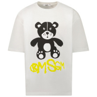 Afbeelding van MSGM 28725 kinder t-shirt wit
