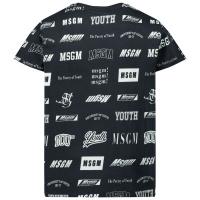 Afbeelding van MSGM 26389 kinder t-shirt zwart