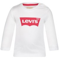 Picture of Levi's NN10034 baby shirt white