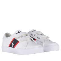 Picture of Ralph Lauren RF101080 kids sneakers white