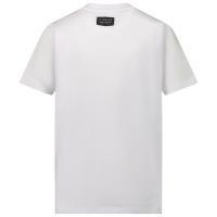Afbeelding van My Brand 3X21001A0006 kinder t-shirt wit