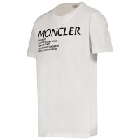 Afbeelding van Moncler 8C77300 kinder t-shirt wit