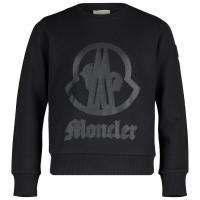 Afbeelding van Moncler 8025250 kindertrui zwart