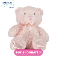 Afbeelding van Coccinelle knuffel 35 cm babyaccessoire licht roze