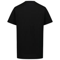 Afbeelding van Dsquared2 DQ0340 kinder t-shirt zwart