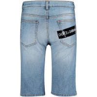 Afbeelding van Dolce & Gabbana L42Q37 kinder shorts jeans
