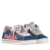 Afbeelding van MonnaLisa 8C3024 kindersneakers jeans
