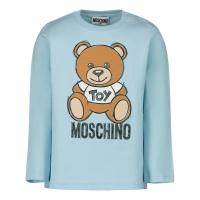 Afbeelding van Moschino MVO000 baby t-shirt licht blauw