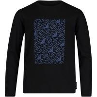 Afbeelding van Armani 6Z4T04 kinder t-shirt zwart