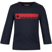 Afbeelding van Dsquared2 DQ02XB baby t-shirt navy
