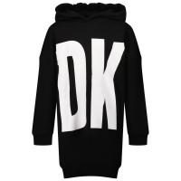 Afbeelding van DKNY D32801 kinderjurk zwart