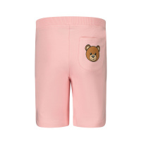 Afbeelding van Moschino MUQ00C baby shorts licht roze