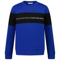Afbeelding van Calvin Klein IB0IB00812 kindertrui cobalt blauw