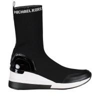 Afbeelding van Michael Kors 43F8GRFE5D dames sneakers zwart