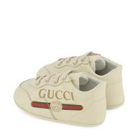 Afbeelding van Gucci 612786 babyschoenen off white