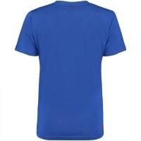 Afbeelding van My Brand WMBTS074GM013 dames t-shirt blauw