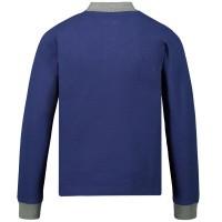 Afbeelding van Moncler 8307750 kinder polo cobalt blauw