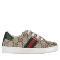 Afbeelding van Gucci 433147 9C210 kindersneakers bruin
