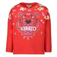 Afbeelding van Kenzo KP10198 baby t-shirt rood