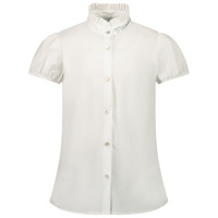 Afbeelding van MonnaLisa 177301A1 kinder overhemd off white