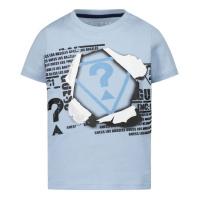 Afbeelding van Guess N1RI09 baby t-shirt licht blauw