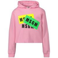 Afbeelding van MSGM 22096 kindertrui licht roze