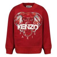 Afbeelding van Kenzo K05095 baby trui donker rood