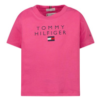 Afbeelding van Tommy Hilfiger KG0KG06163B baby t-shirt fuchsia