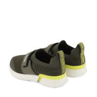 Afbeelding van Boss J09151 kindersneakers army
