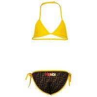 Afbeelding van Fendi JFM027 AEZ1 kinder zwemkleding bruin