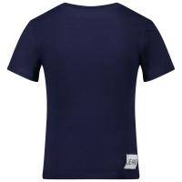 Afbeelding van Calvin Klein IB0IB00347 kinder t-shirt donker blauw