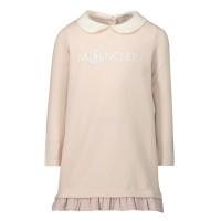 Afbeelding van Moncler 8075350 baby tuniekje licht roze