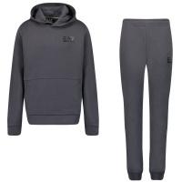 Afbeelding van EA7 6KBV53 kinder joggingpak donker grijs