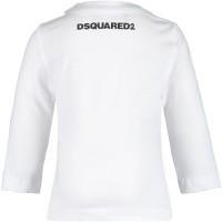 Afbeelding van Dsquared2 DQ02ZR baby t-shirt wit