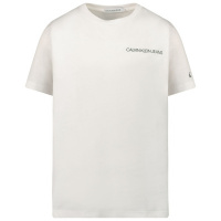Afbeelding van Calvin Klein IB0IB00456 kinder t-shirt wit
