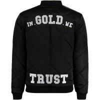 Afbeelding van in Gold We Trust FAJ029 heren jas zwart