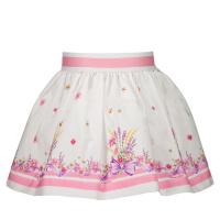 Afbeelding van MonnaLisa 317702 baby rokje wit