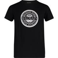 Afbeelding van Balmain 6K8521 kinder t-shirt zwart