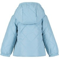 Picture of Moschino MUS01E baby coat light blue