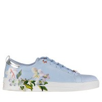 Picture of Ted Baker 918198 womens sneakers light blue