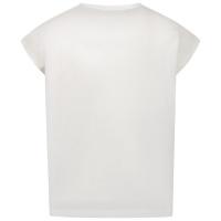 Afbeelding van Liu Jo GA1079 kinder t-shirt wit