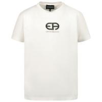 Afbeelding van Armani 3K4TAC kinder t-shirt off white