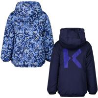 Afbeelding van Kenzo K26021 kinderjas donker blauw