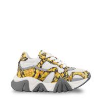 Afbeelding van Versace YHX00029 1A00330 kindersneakers goud/wit