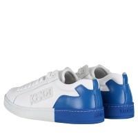Afbeelding van Kenzo F005SN127L50 heren sneakers wit/blauw