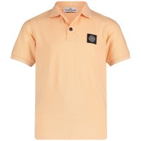 Picture of Stone Island 701621348 kids polo shirt salmon
