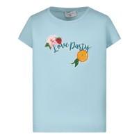 Afbeelding van MonnaLisa 115642AF kinder t-shirt turquoise